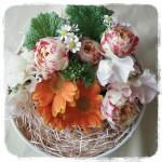成人祝いや記念日のプレゼントに1月の花スイートピーを使って簡単ギフトアレンジメントの作り方