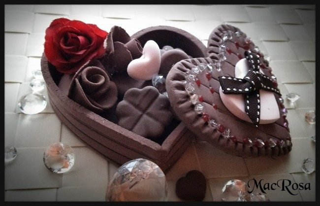 バレンタインのジュエリーBOX2