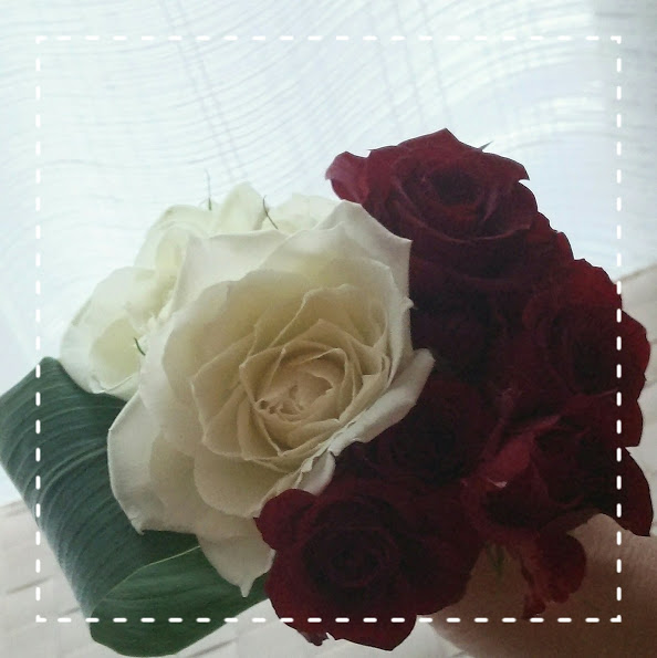-バラの花束3