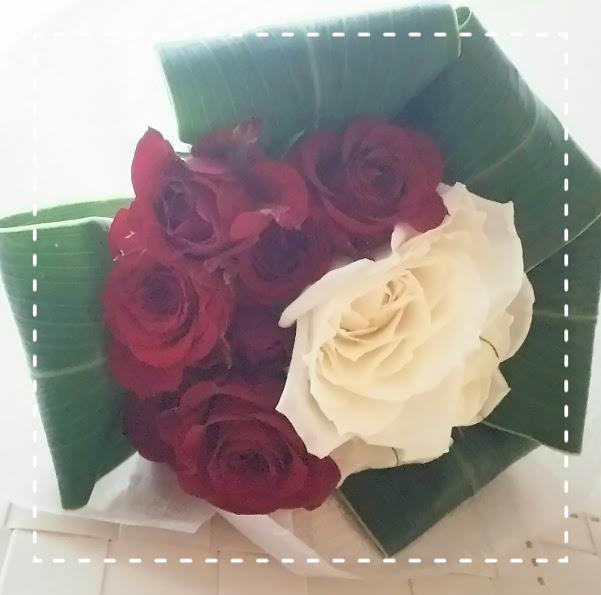 バラの花束7