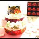 ひな祭りのフェイクケーキをもう1つ(2/21トレッサ横浜・はぴはぴワークショップフェスティバル)