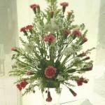 フラワーデザイン・生花で基本の形・オーバルアレンジメントで基礎からNO・2