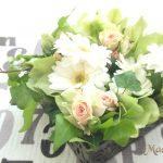 母の日・父の日にお花屋さんの気分で手作りアレンジメントを贈りませんか?NO・2