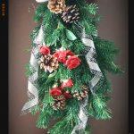 クリスマス用スワッグの簡単作り方!