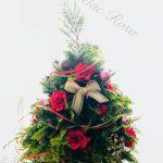 クリスマスツリーは生の木を使って