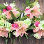 アーティフィシャルフラワーで作る仏花アレンジメント